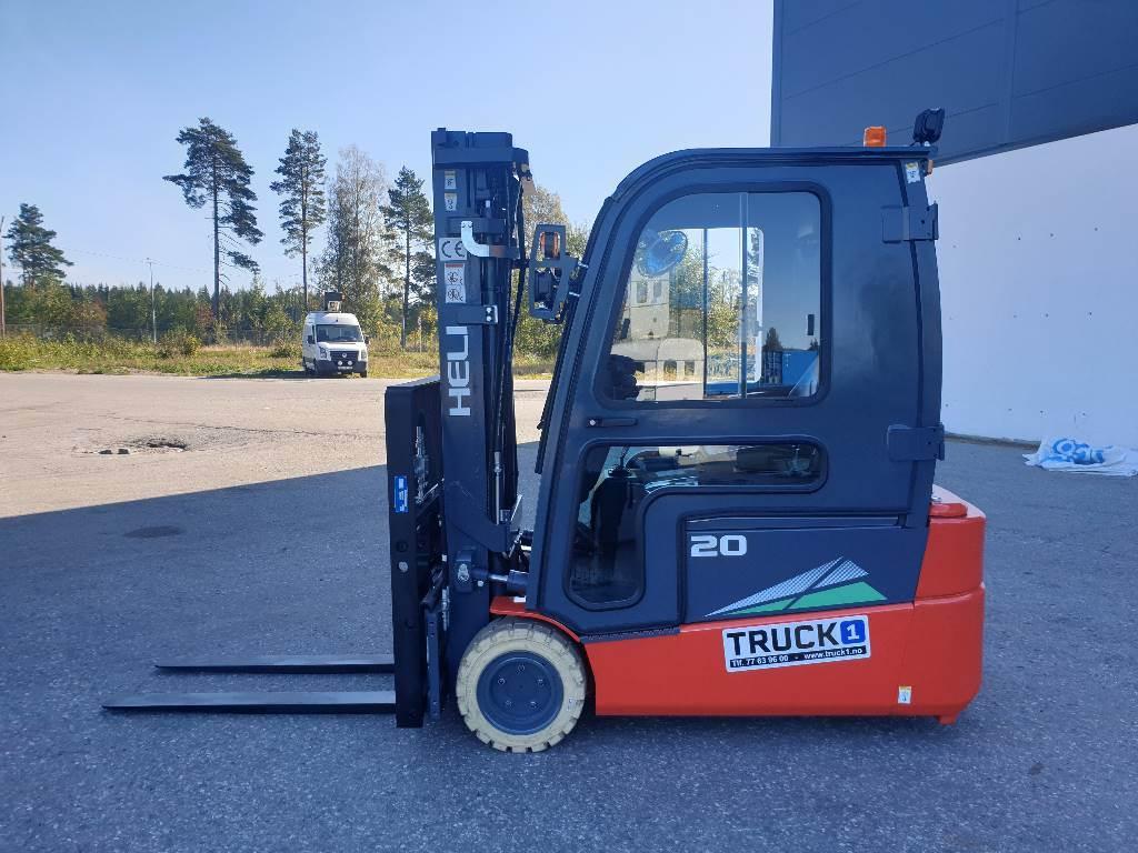 Heli CPD20SQ - 2,0 t el. truck - 4,7 m LH (PÅ LAGER), Elektriske trucker, Truck