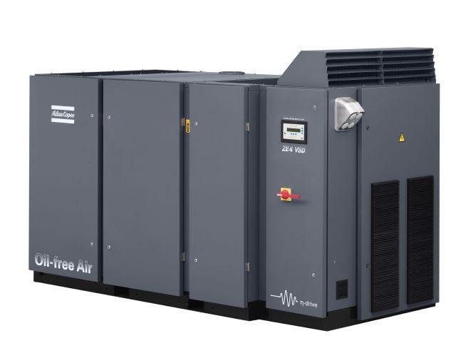 Atlas Copco ZE 4 VSD, Compressors, Industrial