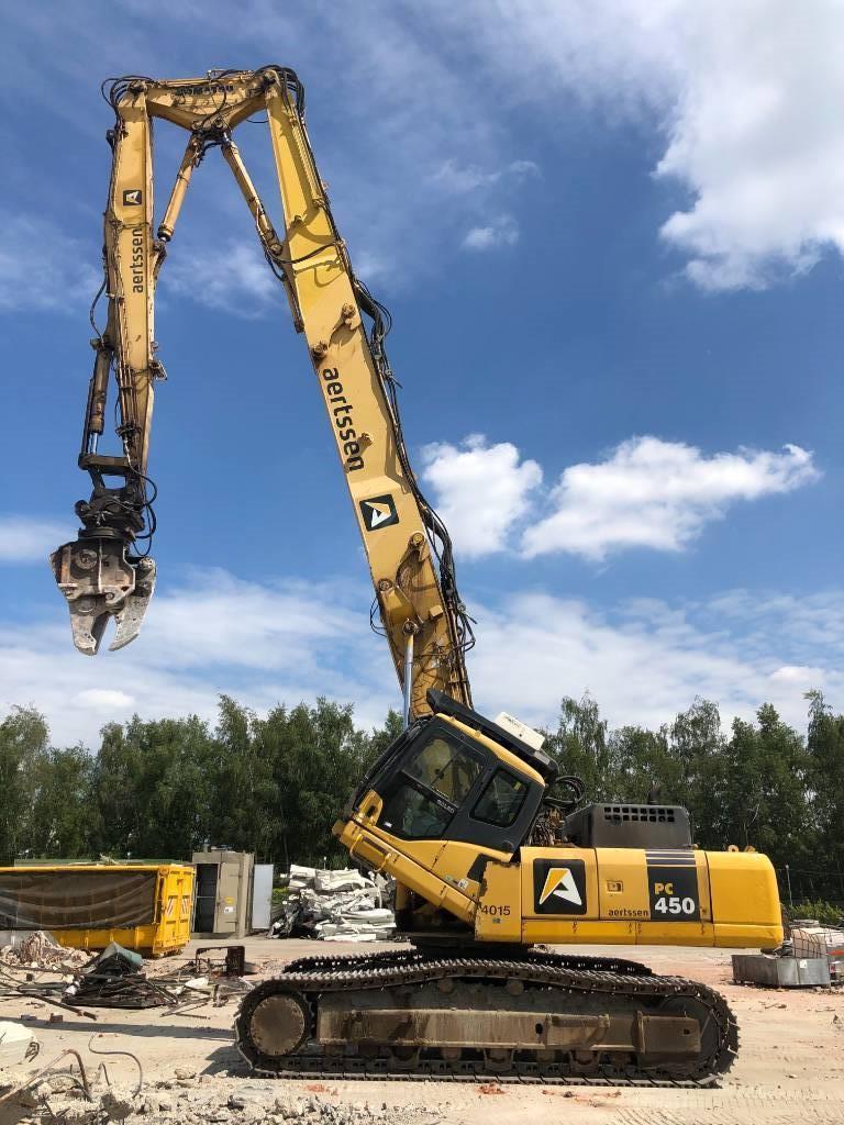 Komatsu PC450HRD-7EO (27m), Demolition excavators, Construction