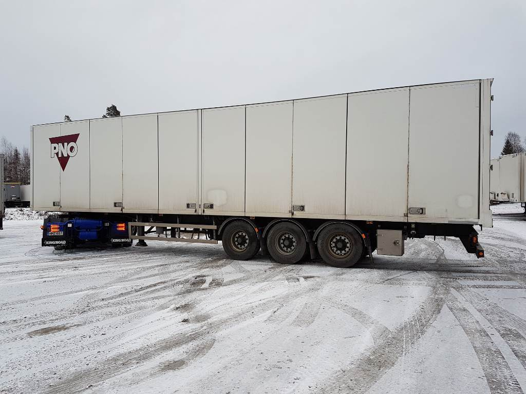Ekeri Kappaletavara PPV Heat King, DKD-118, Box body semi-trailers, Transportation