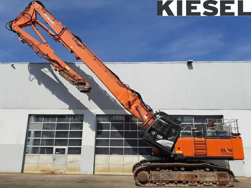 Hitachi ZX 470 LC D-5, Demolition, Construction Equipment
