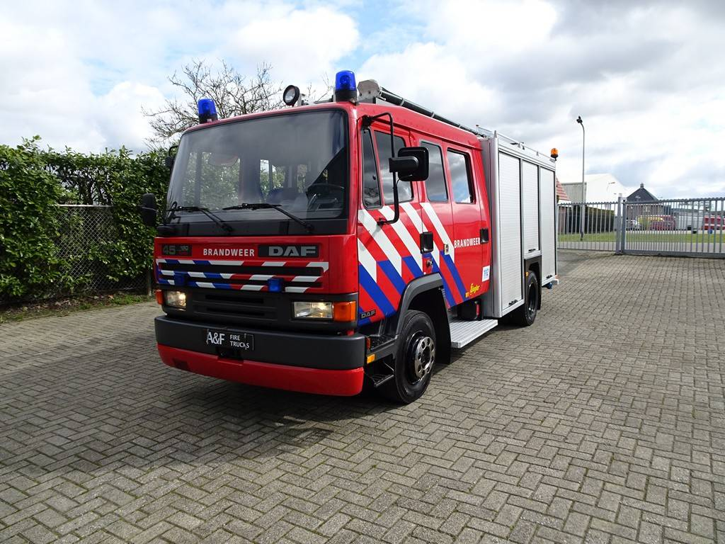 DAF 45-160 Turbo Ziegler Firetruck, Fire trucks, Transportation