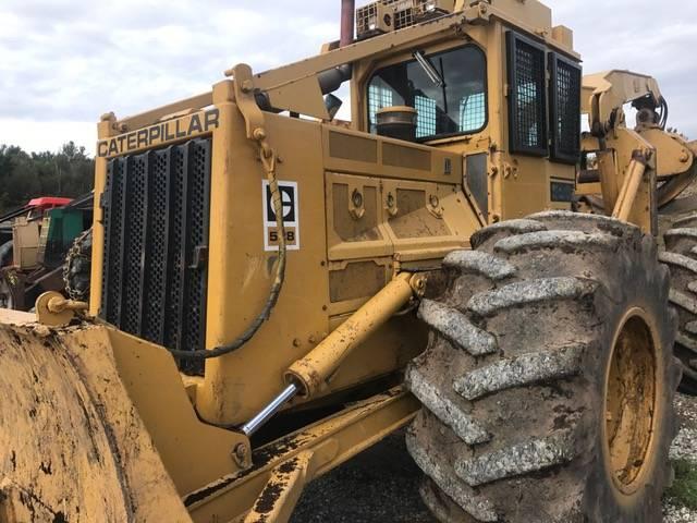 Caterpillar 528B - Skidders - Forestry equipment - Stosik