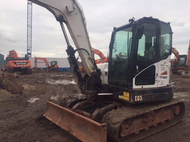 Bobcat E85, Midi excavators  7t - 12t, Construction