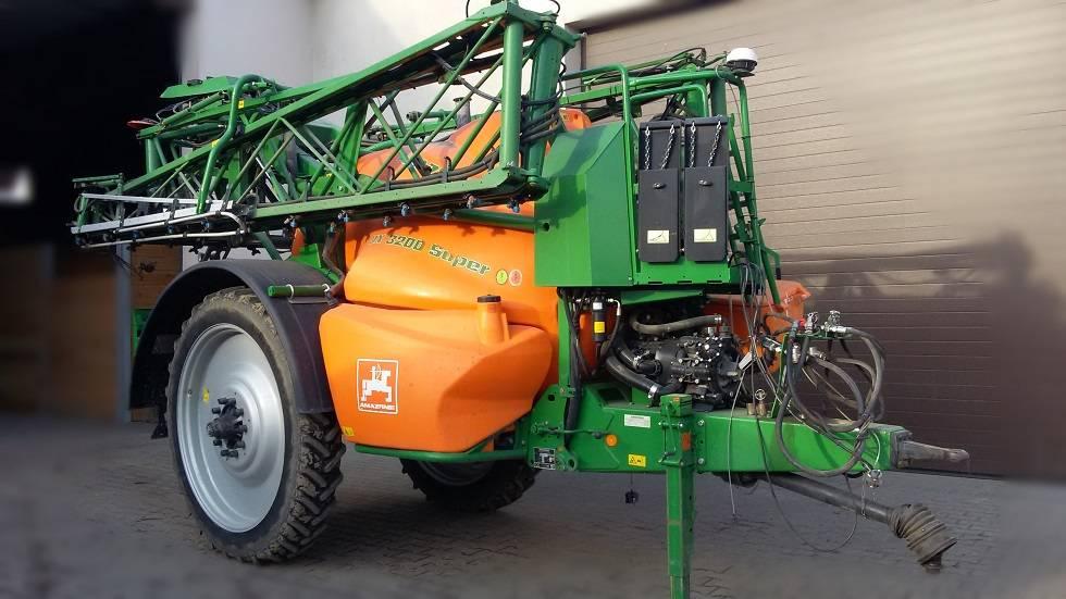 Amazone UX 3200 Super, Opryskiwacze zaczepiane, Maszyny rolnicze