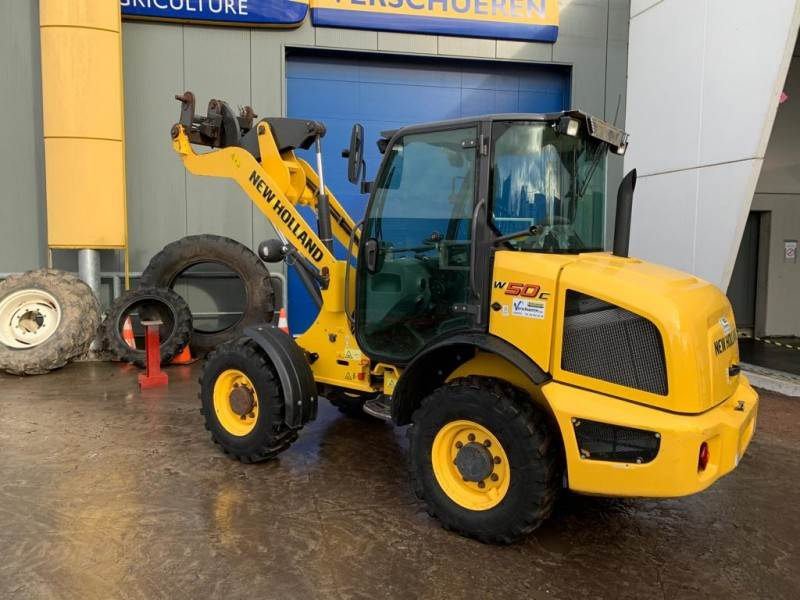 New Holland Construction W50C, Miniladers, Bouw