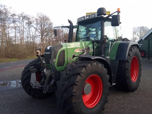 Fendt 820 Vario TMS met Stoll FZ 60 Profiline, Tractoren, Landbouw