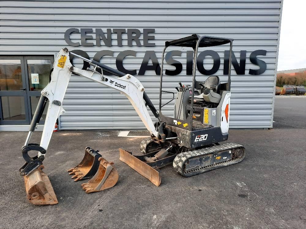 Bobcat e20, Mini digger, Construction Equipment