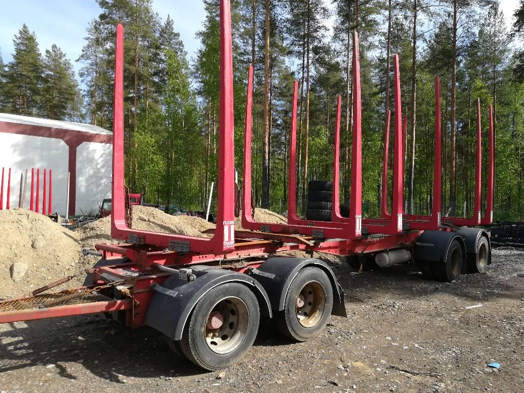Jyki V 42 T0, Puuperävaunut, Kuljetuskalusto
