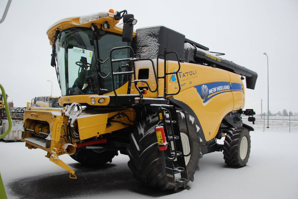 New Holland CX 8080, Derliaus nuėmimo kombainai, Žemės ūkis