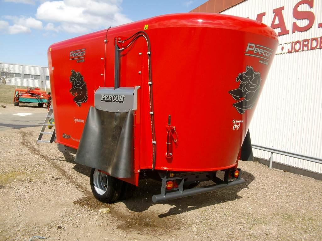 Peecon Biga Mixer 20 Kubik, Utfodringsutrustning, Lantbruk