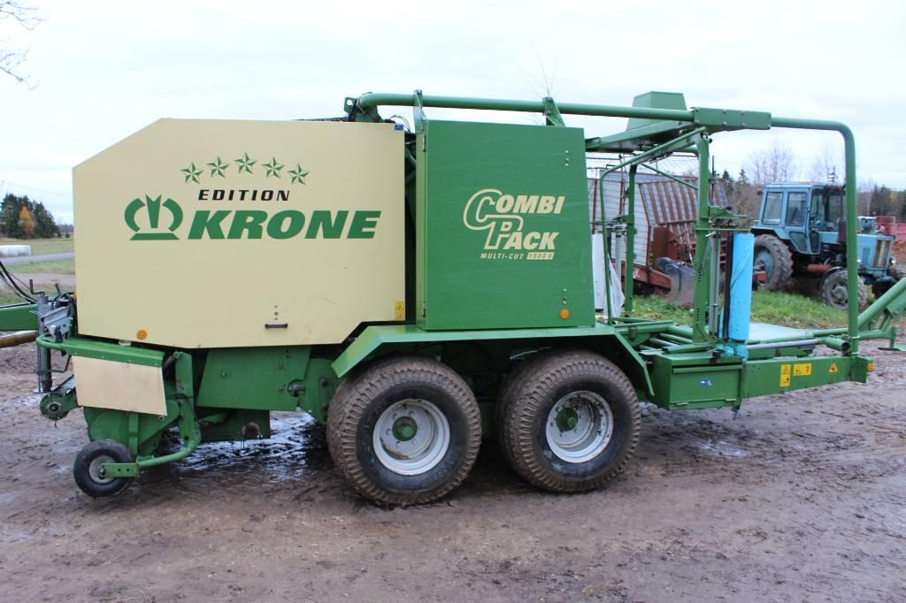 Krone Combi Pack 1500 V, Ruloonpressid, Põllumajandus