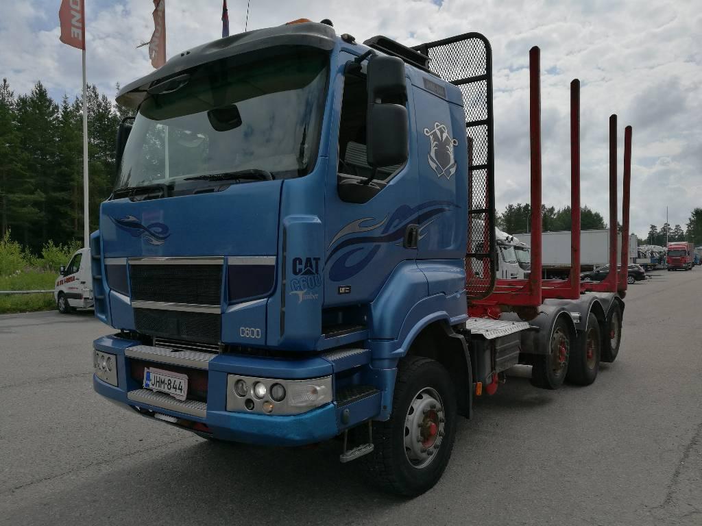 Sisu C600, Timber trucks, Transportation