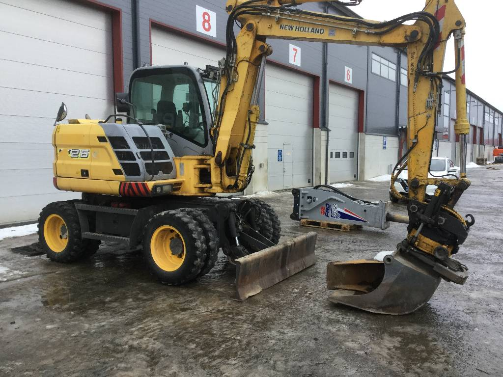 New Holland MH2.6, Wheeled excavators, Construction