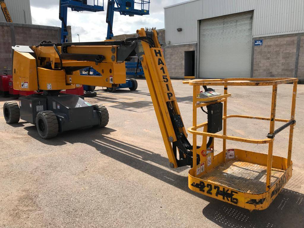 Haulotte HA15 IP 946, Articulated boom lifts, Construction Equipment