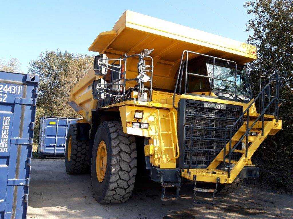 Komatsu HD605-7, Rigid dump trucks, Construction Equipment