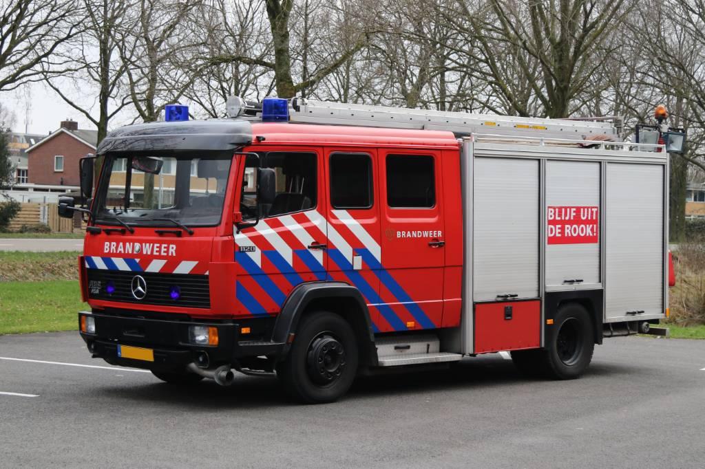 Mercedes-Benz 1120F Ziegler, Brandweerwagens, Transport