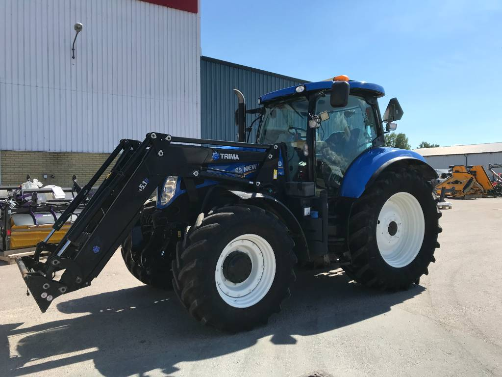 New Holland T 7.210 AC, Traktorer, Lantbruk