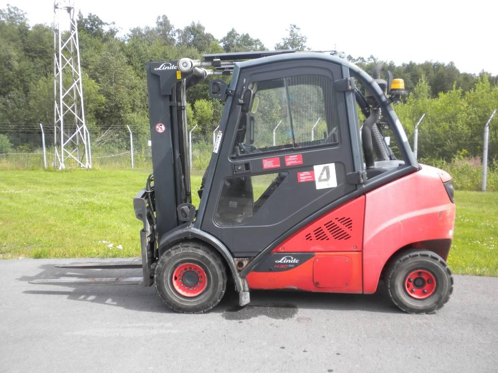 Linde H30D/393, Diesel trucks, Material Handling