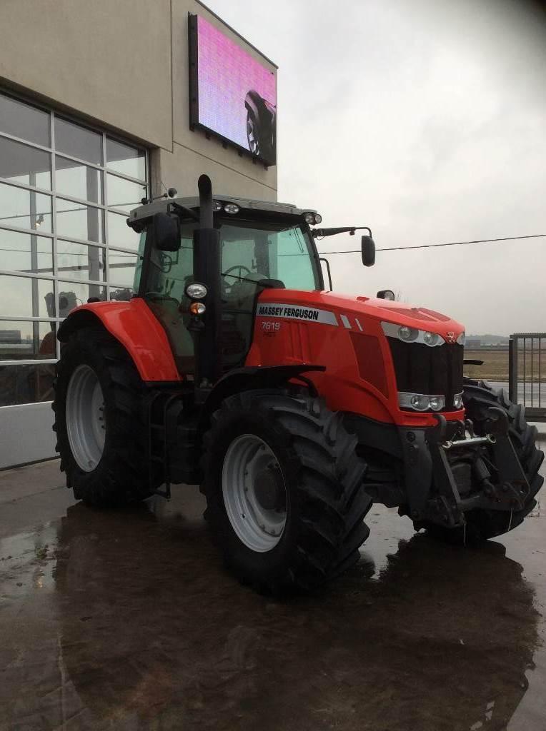 Massey Ferguson 7619, Tractoren, Landbouw