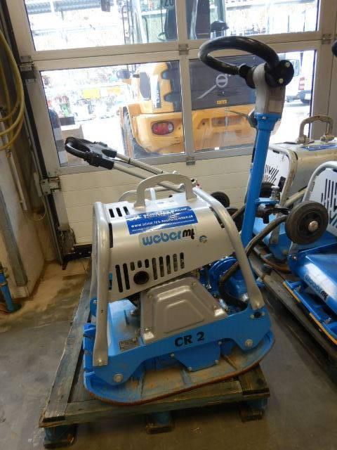 Weber CR 2, Plate Compactors, Construction Equipment
