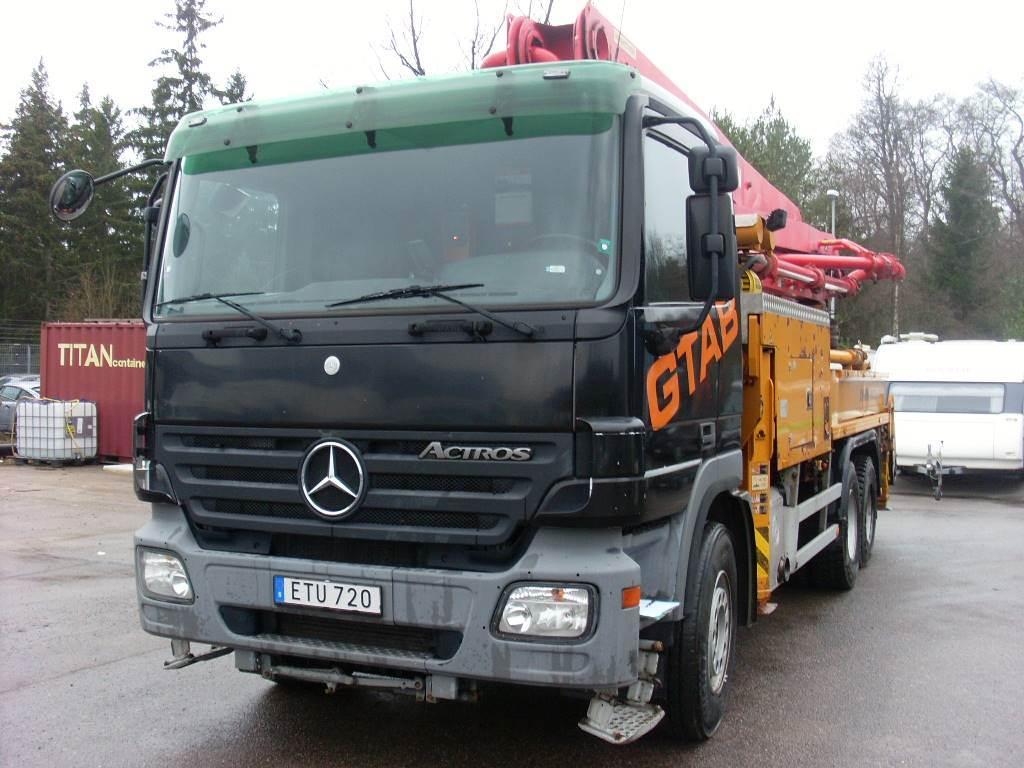 Mercedes-Benz ACTROS JUNJIN JXR33-4.16hp, Cementbil, Transportfordon