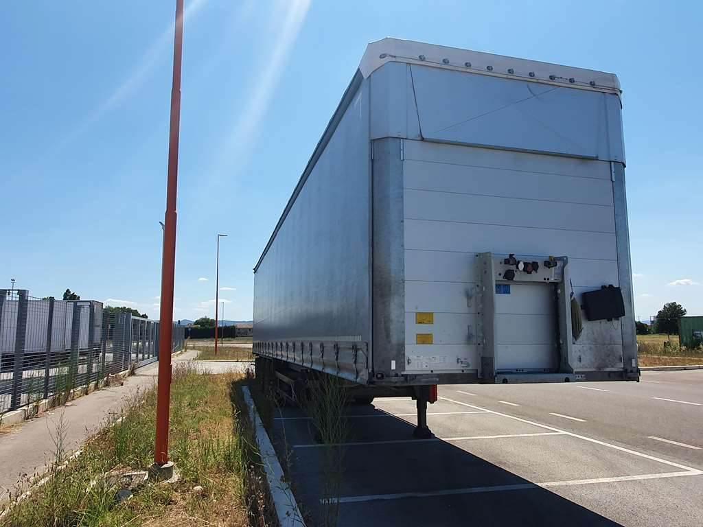 Schmitz SCS 24/L - 13.62 E B, Curtain  trailers, Trucks and Trailers