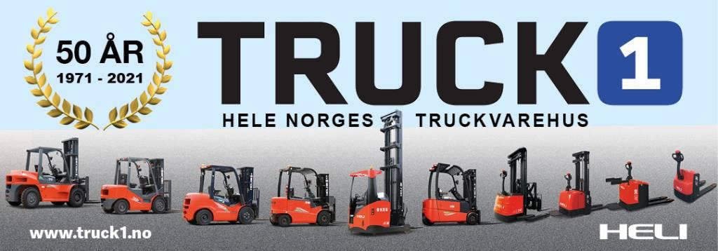 Heli CBD15J-LI2 - 1,5 tonns palletruck (PÅ LAGER), Lavtløftende truck, Truck