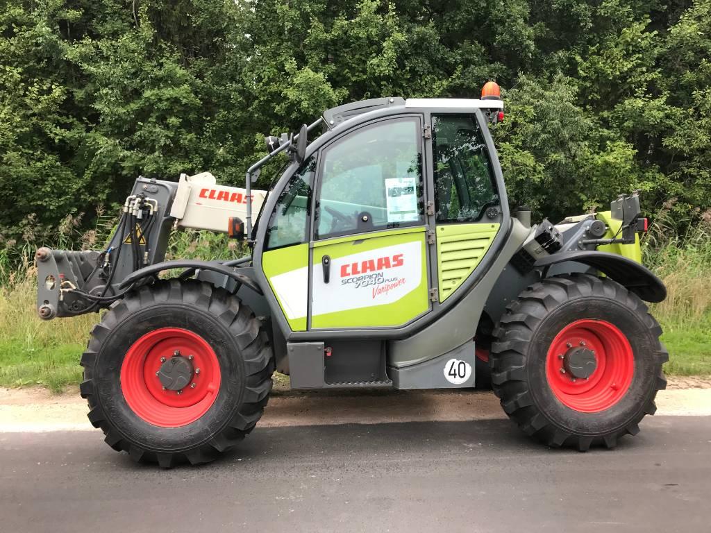 CLAAS Scorpion 7040, Maatalouskurottajat, Maatalouskoneet