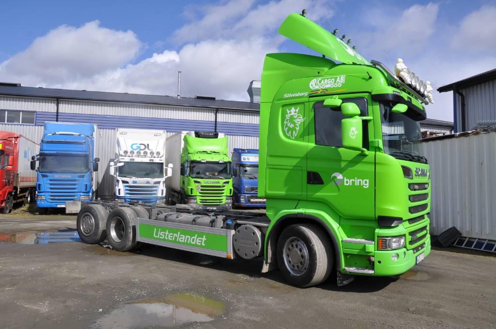 Scania R560 6X2, Chassier, Transportfordon