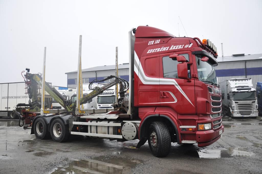 Scania R560LB6X4HSA, Timmerbilar, Transportfordon