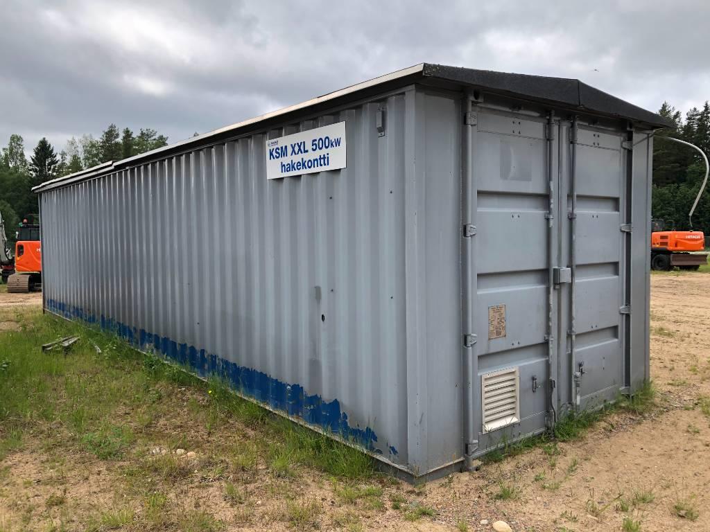 [Other] KSM 500kW Hakekontti, Biomassakattilat ja -uunit, Metsäkoneet