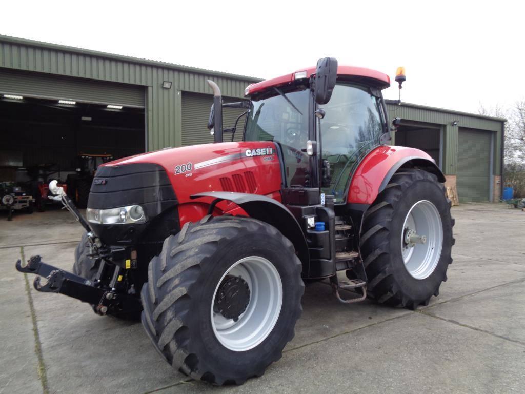 CASE Puma 200 CVX, Tractors, Agriculture