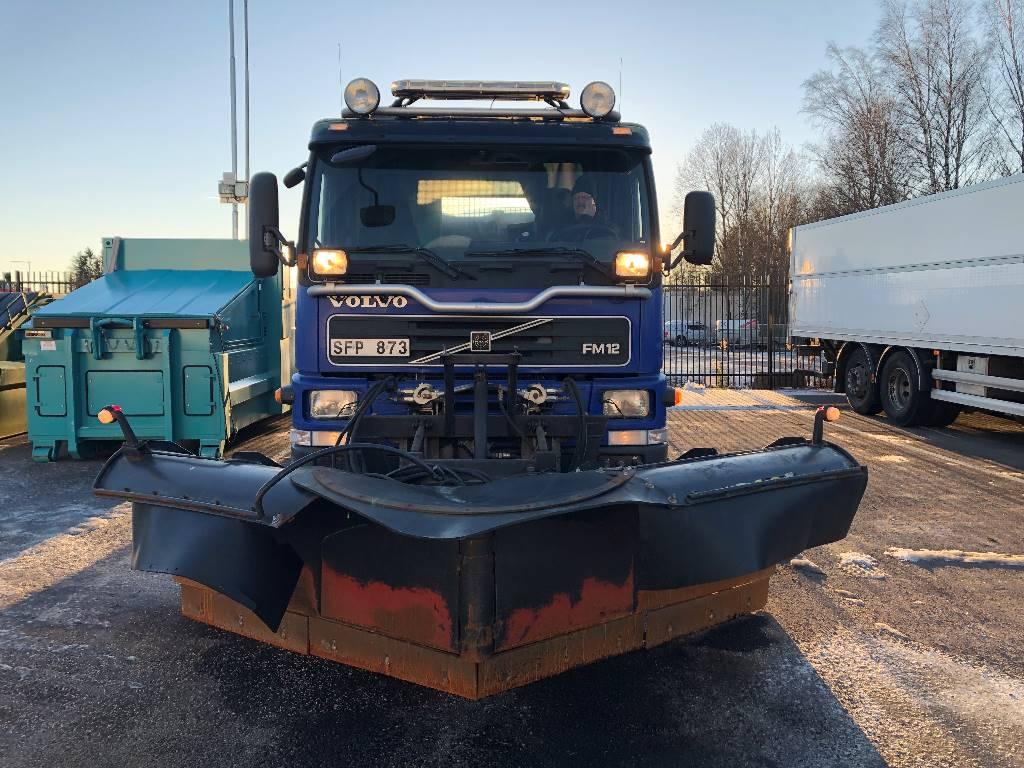 Volvo FM12 420, Tippbilar, Transportfordon