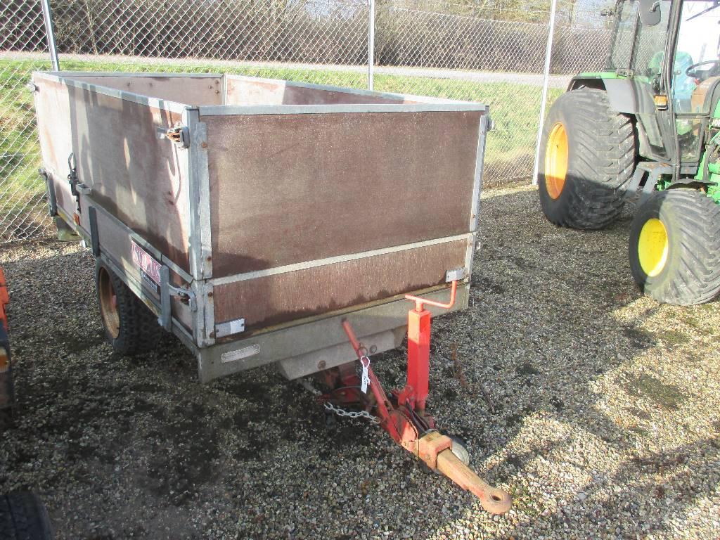 Solus 2 Ton Vogn Uden tip., Andre have & park maskiner, Have & Park