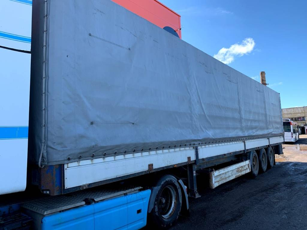 Krone SDP 27 1999, Curtain Side Trailers, Trucks and Trailers