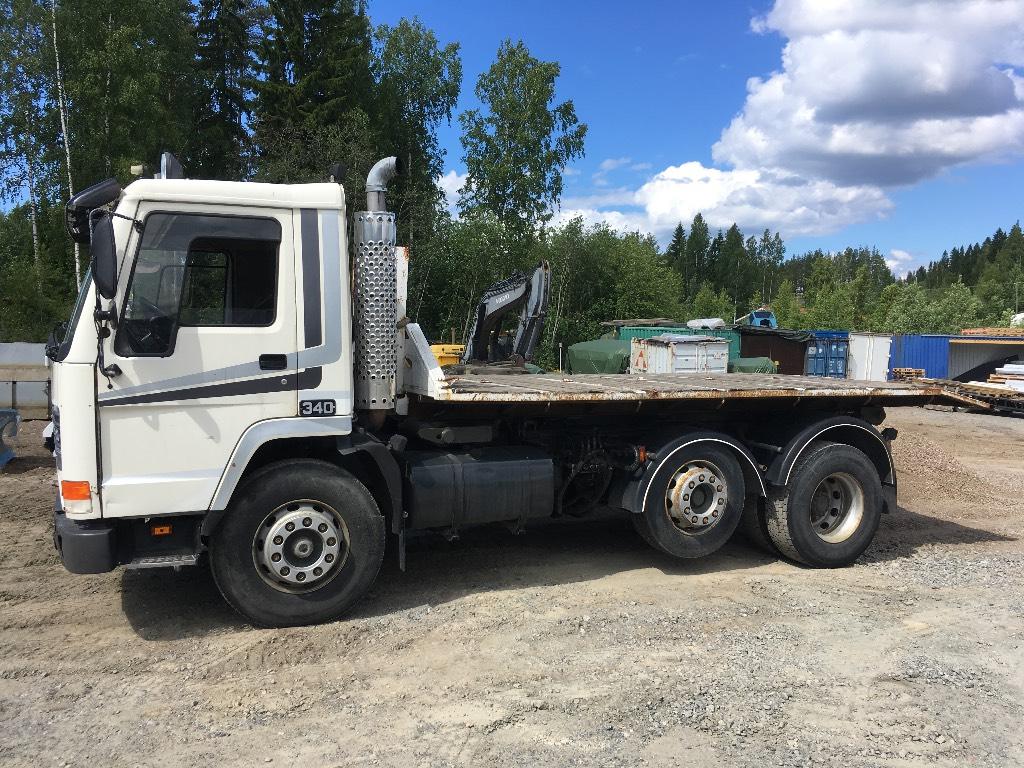 Volvo FL10 (vaihto matkailuautoon), Vaihtolava-autot, Kuljetuskalusto