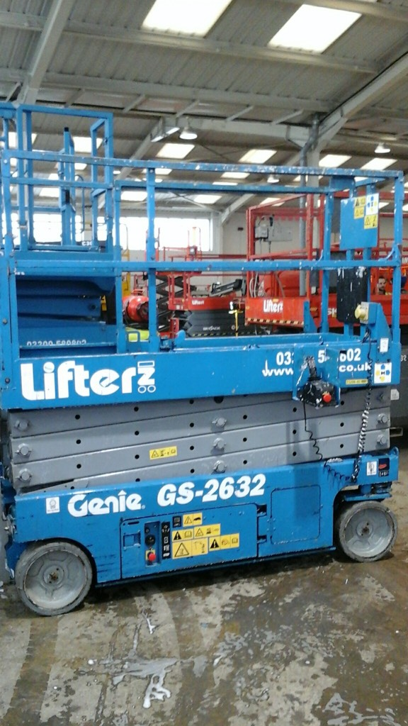 Genie GS 2632, Scissor lifts, Construction