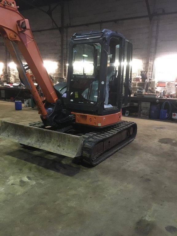 Hitachi ZX 50 U-2, Mini excavators < 7t, Construction Equipment