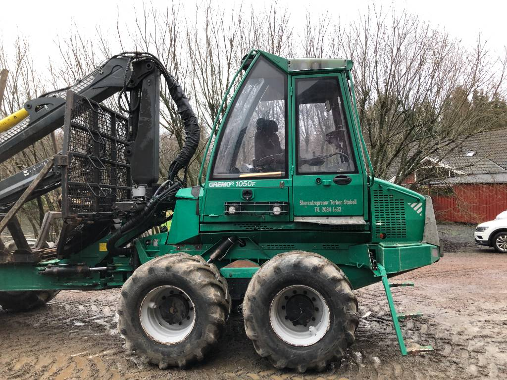 Gremo 1050 F, Forwarders, Forestry