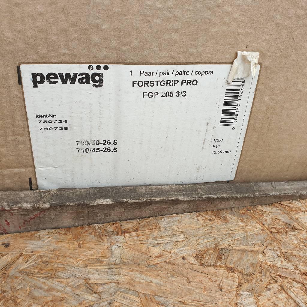 Pewag Forstgrip Pro, Redskap till skogsmaskiner, Skogsmaskiner