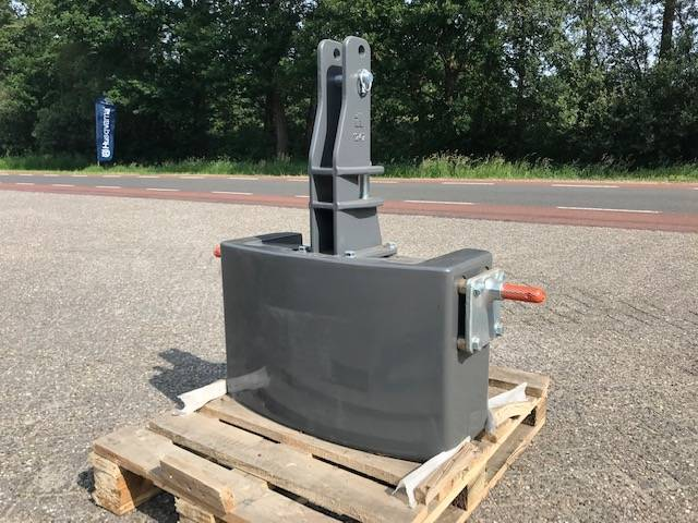 Fendt 600 kg, Frontgewichten, Landbouw