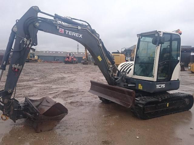 Terex TC 75, Midigraafmachines 7t - 12t, Bouw