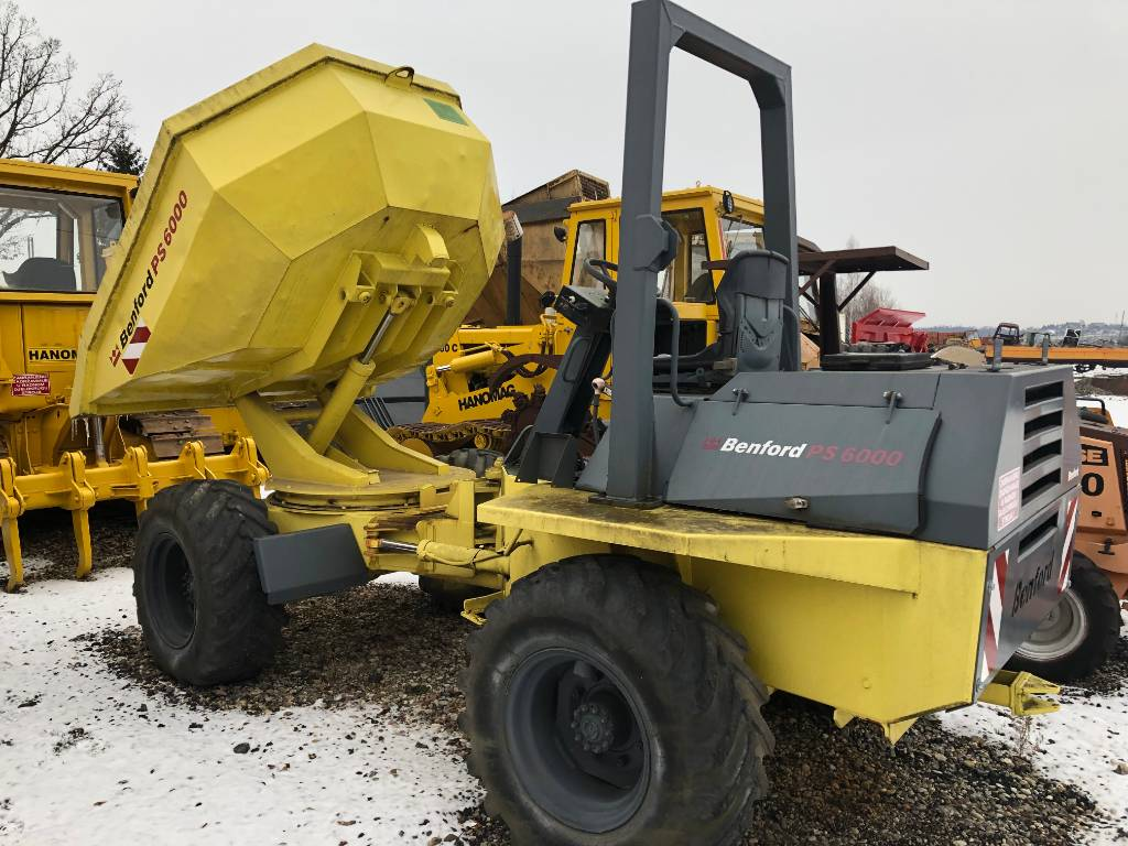 Benford 6000 PS, Zglobni damperi, Građevinarstvo