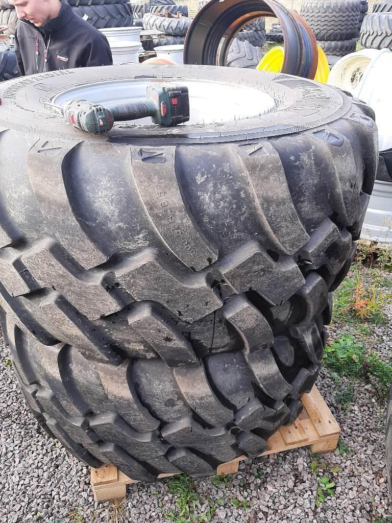BKT kompletta hjul. 600/55-26,5 radial, Däck, hjul och fälgar, Lantbruk