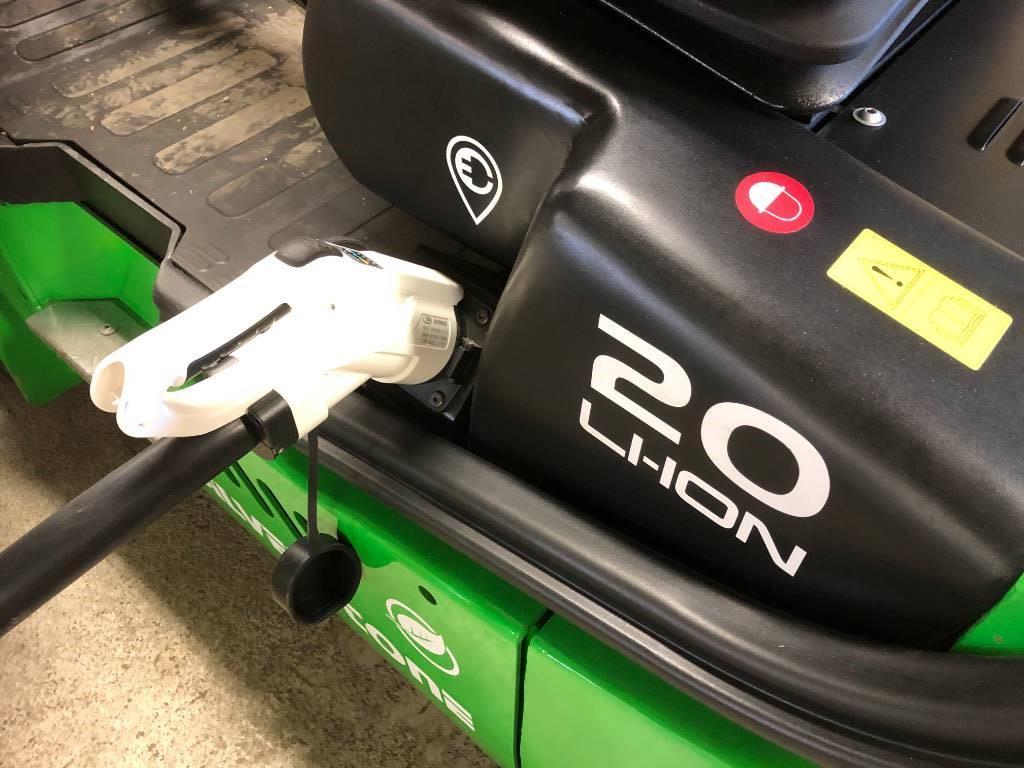 Silverstone CPD20L2, Elmotviktstruckar, Materialhantering