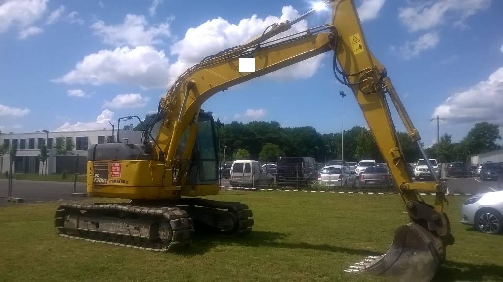 Komatsu PC 138 US-2, Crawler Excavators, Construction Equipment