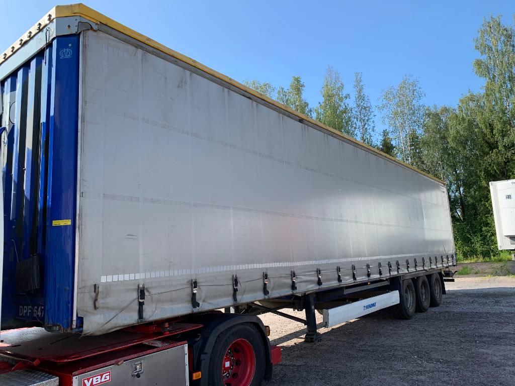 Krone Vyökapelli ppv, DKX-703, Curtainsider semi-trailers, Transportation