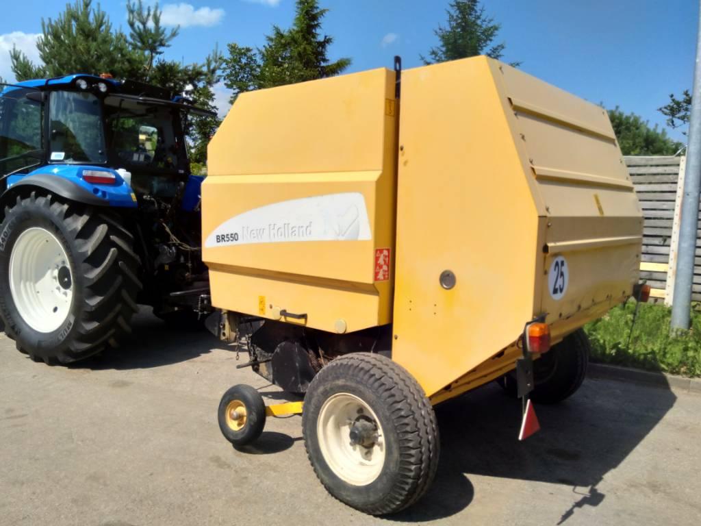 New Holland BR550, Heinapressid, Põllumajandus