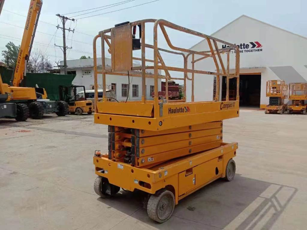 Haulotte COMPACT12, Scissor Lifts, Construction Equipment